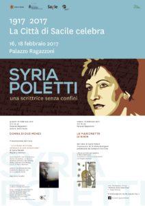 Syria Poletti.Locandina febbraio